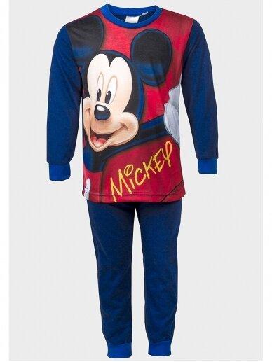 Tamsiai mėlyna vaikiška pižama Mickey Mouse 1071D198