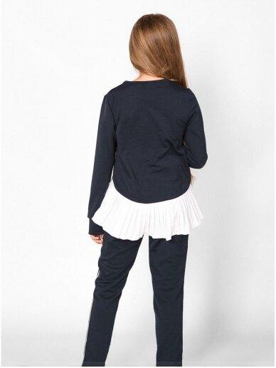 Tamsiai mėlynas asimetriskas laisvalaikio kostiumas 0554D106 2