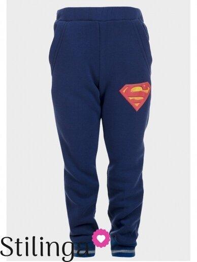 Tamsiai mėlynas sportinis kostiumas Supermenas 0525D99 2
