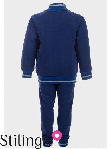 Tamsiai mėlynas sportinis kostiumas Supermenas 0525D99 3