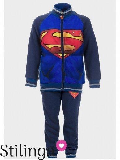 Tamsiai mėlynas sportinis kostiumas Supermenas 0525D99