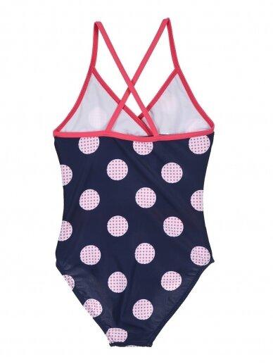 Tamsiai mėlynas vientisas maudymosi kostiumėlis MINNIE MOUSE 0120D32 2