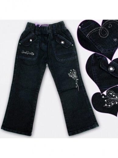 Tamsiai mėlyni džinsai Good Girl 0359D060 2