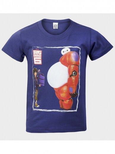 Tamsiai mėlyni marškinėliai Big Hero 0954D180