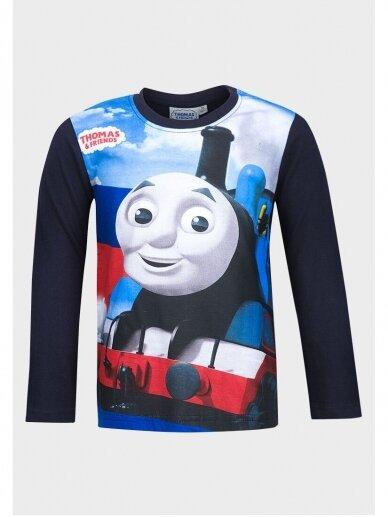 Thomas & Friends tamsiai mėlyni marškinėliai 1057D195