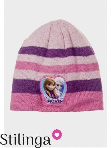 Vaikiška rožinės spalvos kepurė Frozen 0683D123