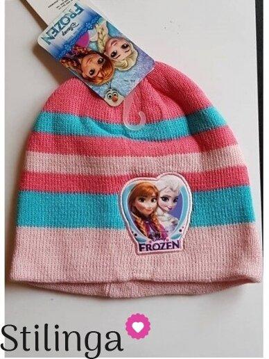 Vaikiška šviesiai rožinės spalvos kepurė Frozen 0684D123