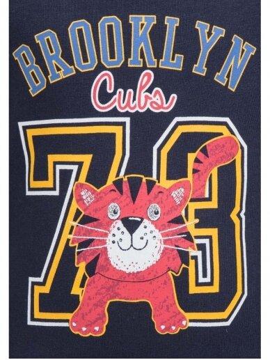 Vaikiškas mėlynas bliuzonas Brooklyn Cubs 73 0245D049 2