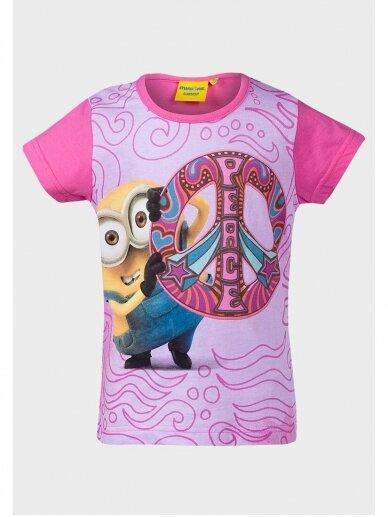 Vaikiški Minions marškinėliai Peace 1002D184