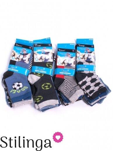 Vaikiškų kojinių rinkinys Futbolas 5514/5516D01 5 poros 2