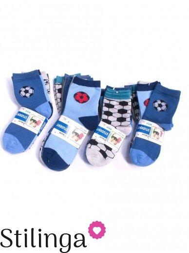 Vaikiškų kojinių rinkinys Futbolas 5514/5516D01 5 poros
