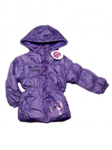 Violetinės spalvos striukė My Little Pony 1128D226