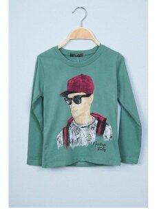 Žalias plonas džemperis Nukutavake ToonToy 0810D165