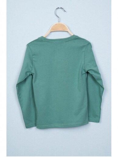 Žalias plonas džemperis Nukutavake ToonToy 0810D165 2