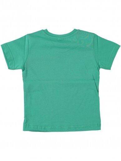 Žalios spalvos marškinėliai 0047D12 2